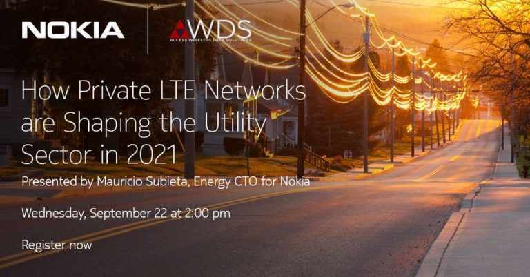 Read more about the article AWDS & Nokia Present: Private LTE for Utility Companies